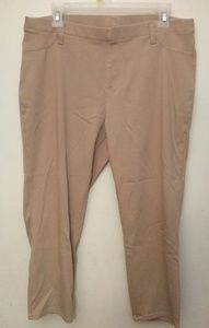 Faded glory khaki leggings - 18/20